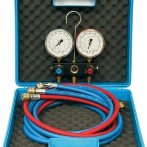 Aircon Teknik Manometermanifold, 4-vejs - R410A